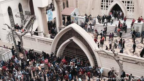 Ägypten Anschlag auf Christen in Tanta (picture-alliance/dpa/AP/N. El-Mofty)
