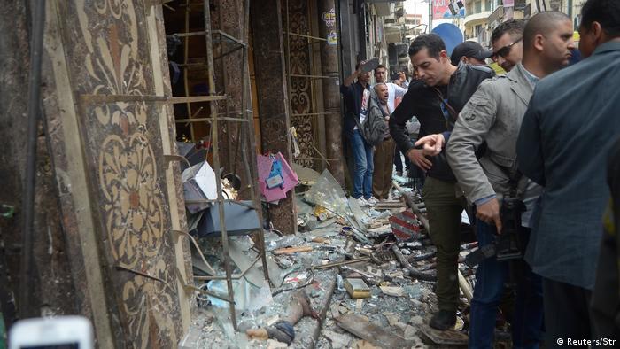 Ägypten weiterer Anschlag auf Kopten in Alexandria (Reuters/Str)