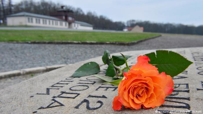 Weimar Gedenkfeier zur Befreiung des KZ Buchenwald