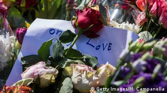 Schweden - Stockholm nach dem Anschlag - Lovefest