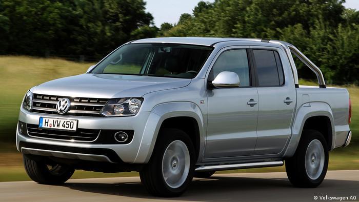 VW Amarok 2017 (Volkswagen AG)