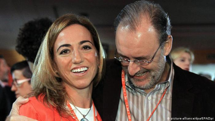 Spanien Carmen Chacon in Madrid (picture-alliance/dpa/EPA/Zipi)