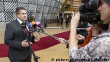 Belgien Außenminister Sigmar Gabriel in Brüssel