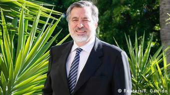 Chile Politiker und ex-Journalist Alejandro Guillier in Valparaiso