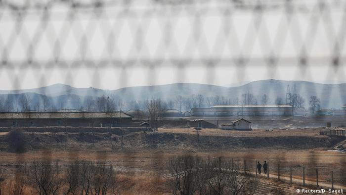 China-Nordkorea Grenze bei Dandong (Reuters/D. Sagolj)