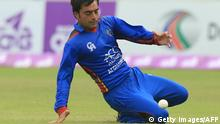 Afghanistan Rashid Khan Cricketer (Getty Images/AFP)