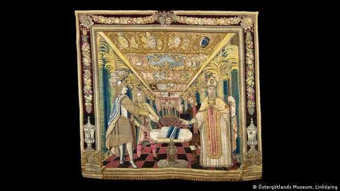 Swedish tapestry from around 1690 (Östergötlands Museum, Linköping)