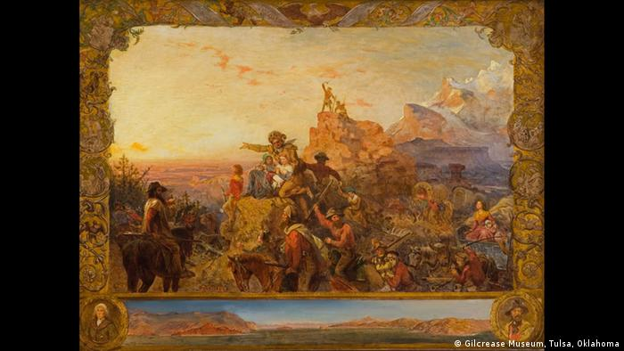 Westward the Course of Empire Takes Its Way, a mural by Emanuel Gottlieb Leutze (Gilcrease Museum, Tulsa, Oklahoma)