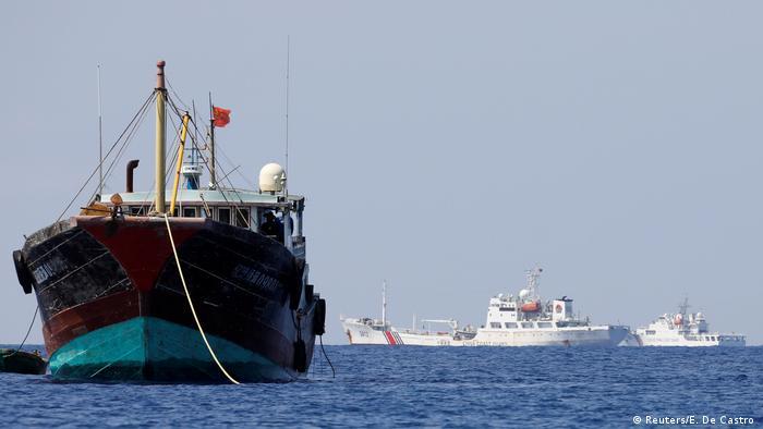 China Philippinen Konflikt um Fischergebiete im Südchinesischen Meer (Reuters/E. De Castro )