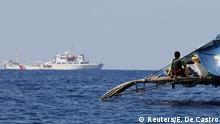 China Philippinen Konflikt um Fischergebiete im Südchinesischen Meer