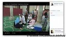 Screenshot Facebook Solidaritätswelle mit Kopten in Ägyten