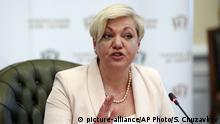 Ukraine Waleria Gontarewa Zentralbankchefin Rücktritt
