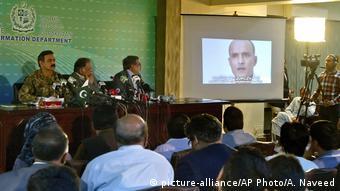 Pakistan angeblicher indische Spion zum Tode verurteilt
