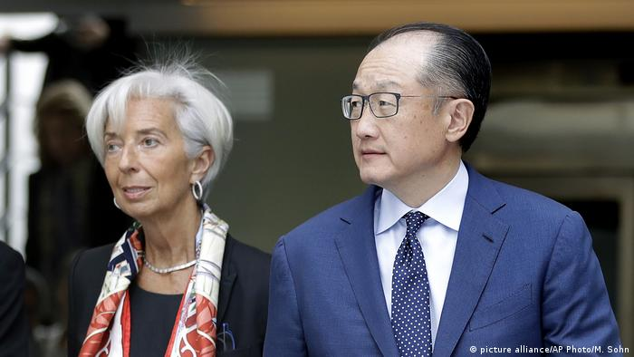 Deutschland IWF-Chefin Christine Lagarde und Präsident der Weltbank Jim Yong Kim in Berlin