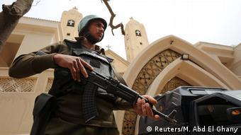 Ägypten Tanta Koptische Kirche Polizei Ausnahmezustand