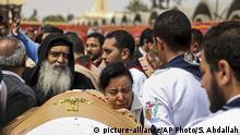 Ägypten Beisetzung Anschlag in Alexandria