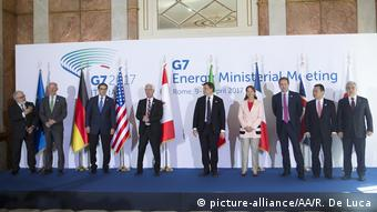 Italien G7 Treffen der Energieminister in Rom (picture-alliance/AA/R. De Luca)