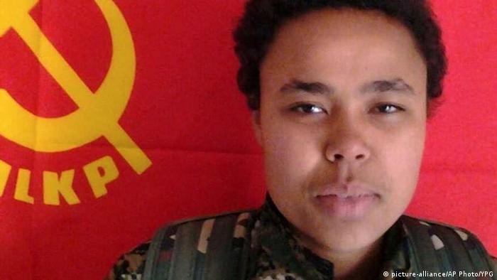 Deutsche Bürgerin ud YPG-Kämpferin Ivana Hoffman