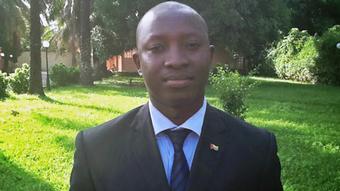Augusto Silva Präsident Liga Guineense dos Direitos Humanos