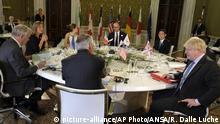 Italien G7 Außenministertreffen
