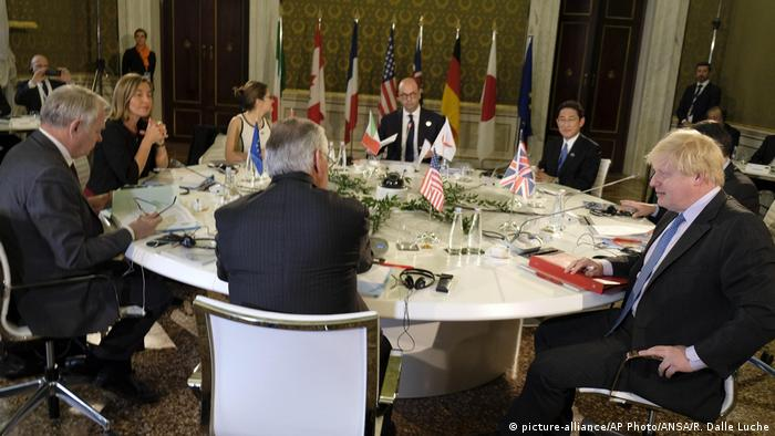 Italien G7 Außenministertreffen (picture-alliance/AP Photo/ANSA/R. Dalle Luche)