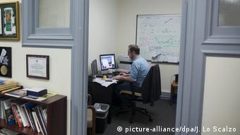 USA Bekanntgabe Pulitzer-Preisträger Hamish Boland-Rudder (picture-alliance/dpa/J. Lo Scalzo)