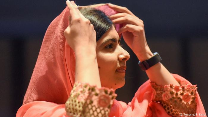 USA Malala Yousafzai in New York (Reuters/S. Keith)