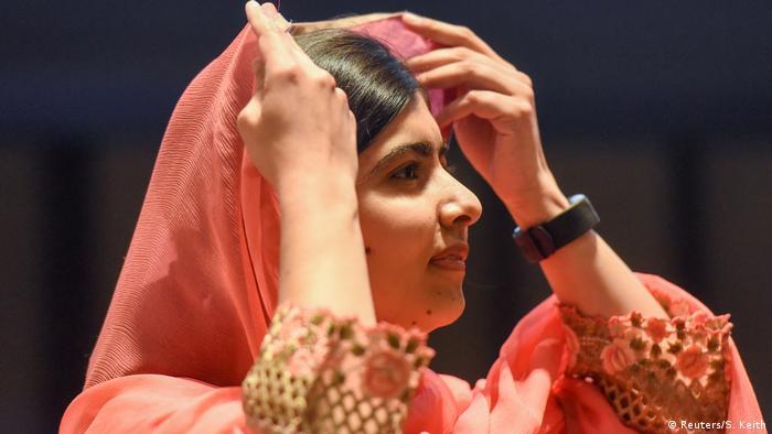 USA Malala Yousafzai in New York