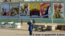 Nordkorea Propagandaplakate