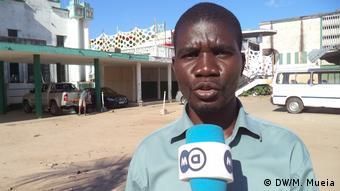 Mosambik Listano Evaristo MDM-Delegierter in Quelimane