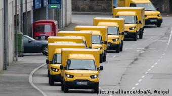 Deutschland Streetscooter Deutsche Post