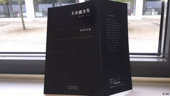 Schriftsteller Wang Xiaobo Buch (DW)