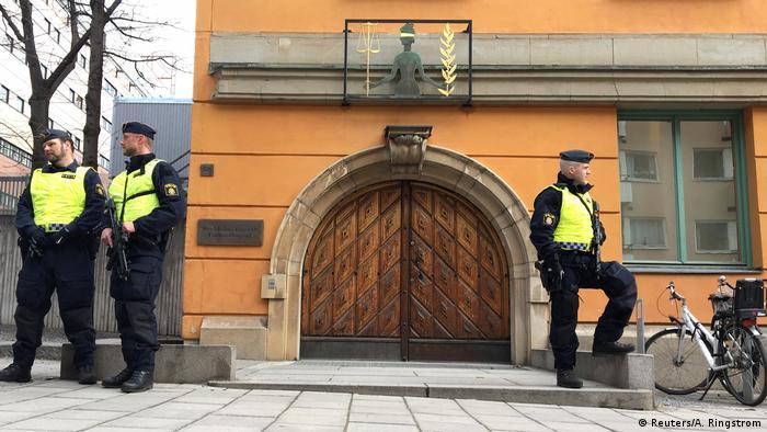 Schweden Usbeke gesteht Anschlag vor Haftrichter in Stockholm (Reuters/A. Ringstrom)