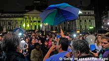 Argentinien Proteste von Lehren in Buenos Aires