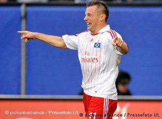 Ivica Olić u dresu HSV-a