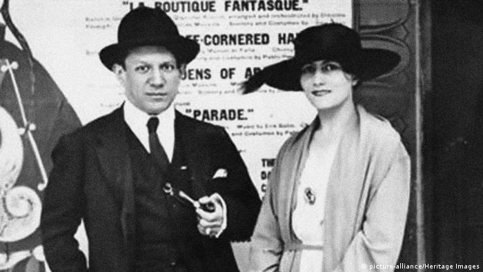 Pablo Picasso und Olga Chochlova