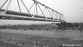 Sandsturm in Iran (Sadegh Souri)