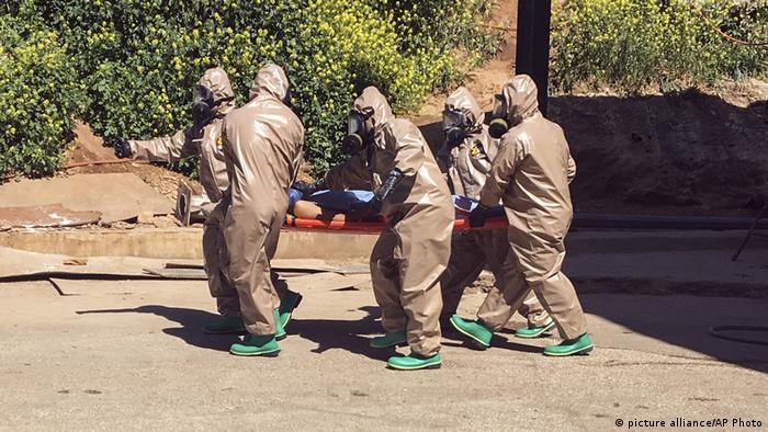Вчені встановили, що хімічна атака в Сирії була здійснена за допомогою заріну