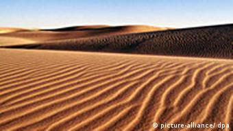A picture of the Sahara Desert.