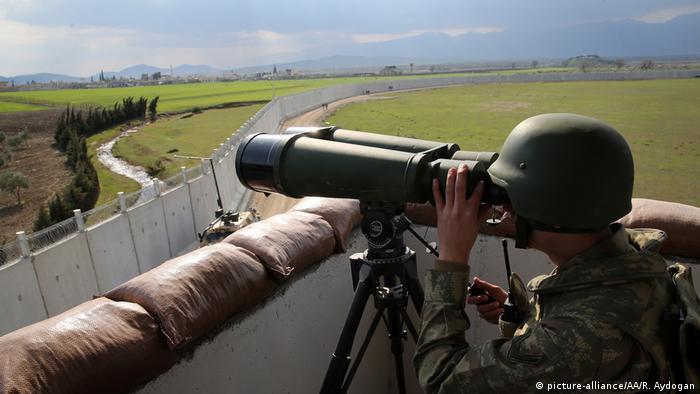 Türkei Grenzmauer zu Syrien (picture-alliance/AA/R. Aydogan)