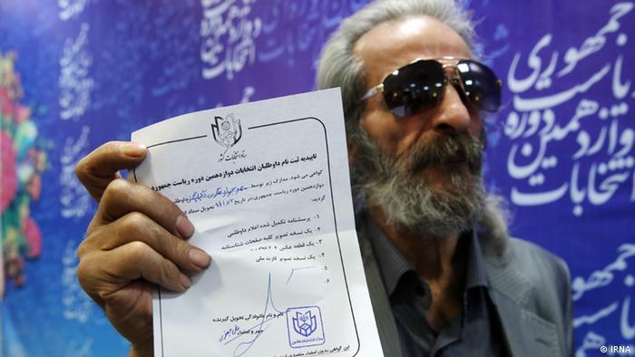 Iran Präsidentschaflskandidaten (IRNA)
