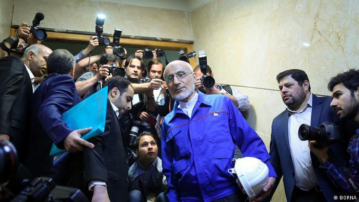 Iran Präsidentschaflskandidaten (BORNA)