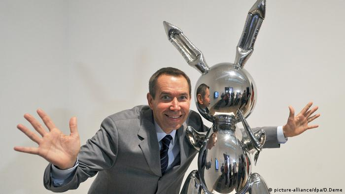 Ausstellung in der Tate Modern - Jeff Koons Rabbit (picture-alliance/dpa/D.Deme)