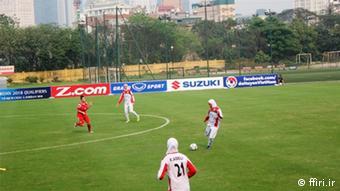 Iran Fußball Frauen Nationalmannschaft