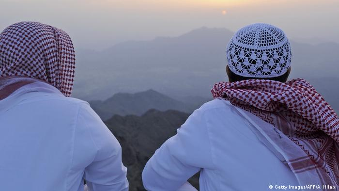 Saudi-Arabien Symbolbild Unterhaltung (Getty Images/AFP/A. Hilabi)