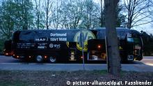 Explosion am BVB Bus