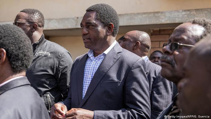 Sambia Hakainde Hichilema Opposition