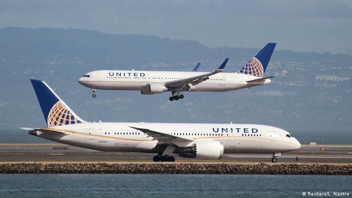 Літаки авіакомпанії United Airlines