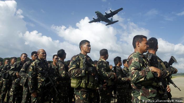 Philippinen - Militäroffensive