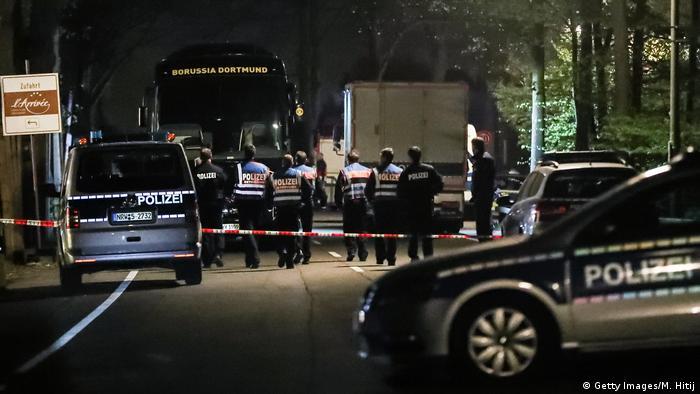 На месте теракта в Дортмунде